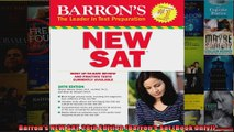 Barrons NEW SAT 28th Edition Barrons Sat Book Only