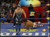 AAA-SinLimite 2009-02-15 Ecatepec 05 Abismo Negro, Latin Lover & Alan Stone vs. Black Abyss, Konnan & Kenzo Suzuki
