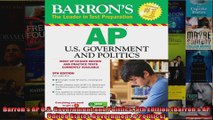 Barrons AP US Government and Politics 9th Edition Barrons AP United States Government