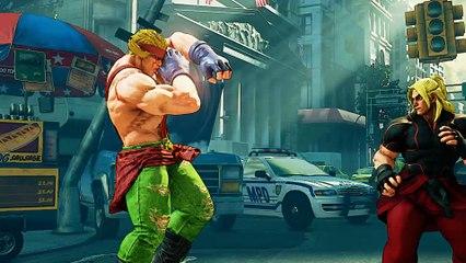 Alex - Trailer de sortie de Street Fighter V