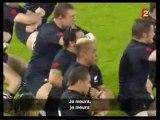 Haka des All Blacks à Gerland