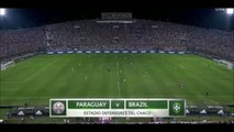 Paraguay - Brazil 2-2 (30 March 2016 , the World Cup qualifying tournament ) football