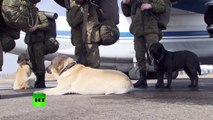 RAW: Russian sappers depart for Palmyra demining mission