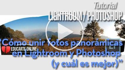Como unir foto panorámica con Lightroom y Photoshop (y cual es mejor)