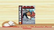 PDF  Essential Punisher Volume 1 TPB Essential Marvel Comics Ebook