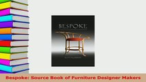 PDF  Bespoke Source Book of Furniture Designer Makers Ebook