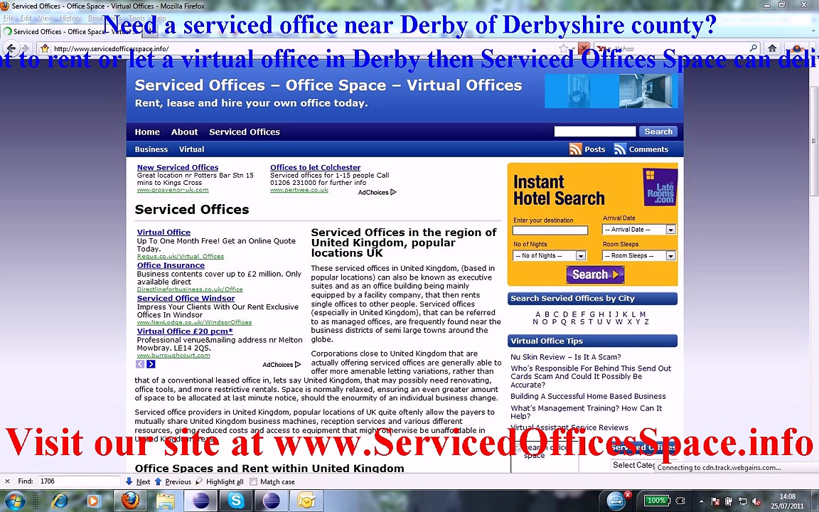 Serviced Offices Derby and Virtual Offices Derby