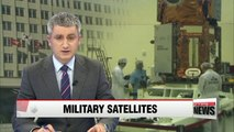 S. Korea to develop five military satellites by 2022