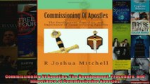 Commissioning Of Apostles The Development Procedure and Importance of Commissioning