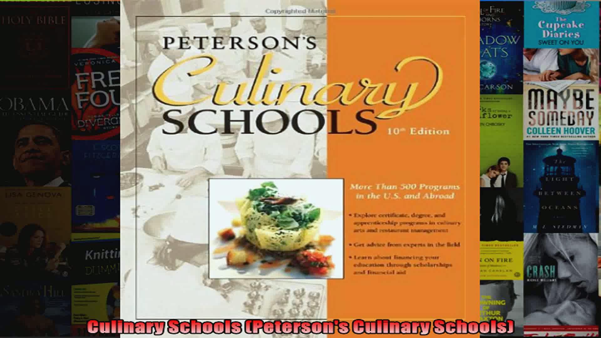 Culinary Schools Petersons Culinary Schools