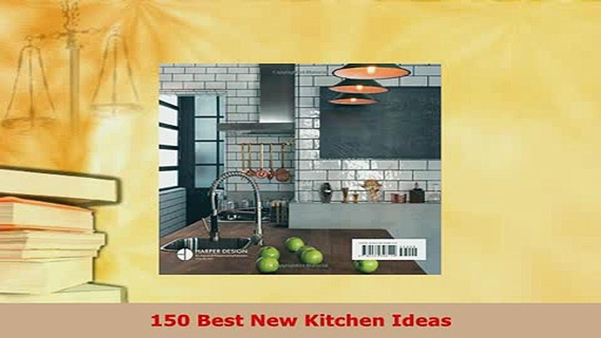 Pdf 150 Best New Kitchen Ideas Read Online Video Dailymotion