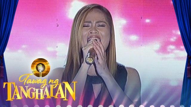 Tawag ng Tanghalan: Maricel Callo | Somewhere (Semifinals)