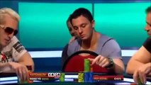 Jungleman and Sam Trickett play big hand with air