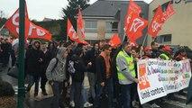 Manifestation contre la loi Travail à Segré