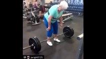 Cette mamie de 78 ans est capable de soulever des barres de plus de 100 kg