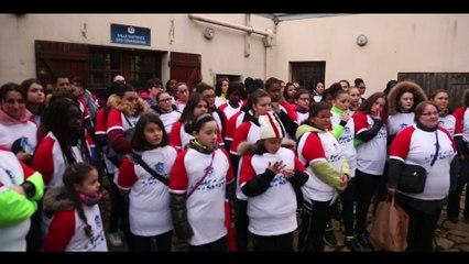 2eme édition de l'opération 100 filles au Stade De France