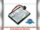 Batterie pour TomTom Go Live 1000 3.7V 1000mAh Li-ion