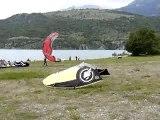 kite surf serre-poncon une ecole sur place