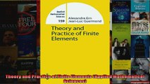 Theory and Practice of Finite Elements Applied Mathematical Sciences