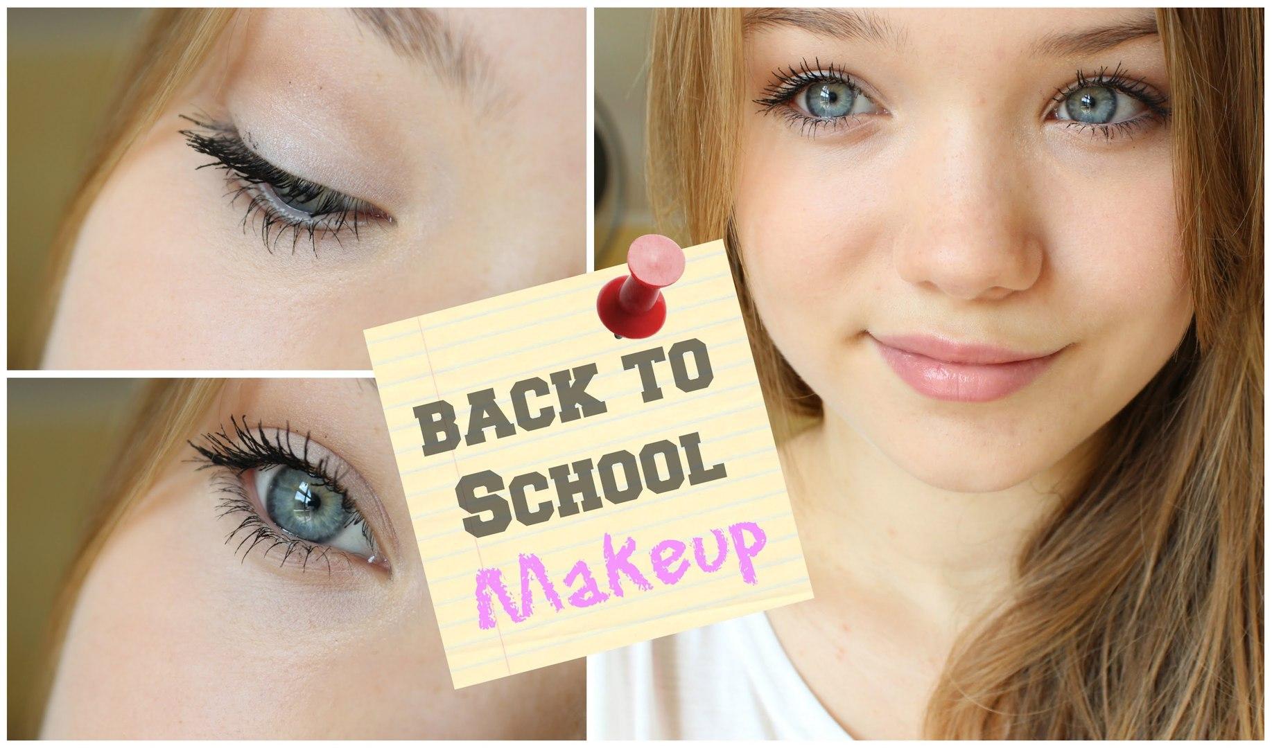 Simple Everyday School Makeup Routine