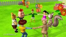 Ringa Ringa Roses - 2 ( Animals ) - 3D Animation English Nursery rhymes For children