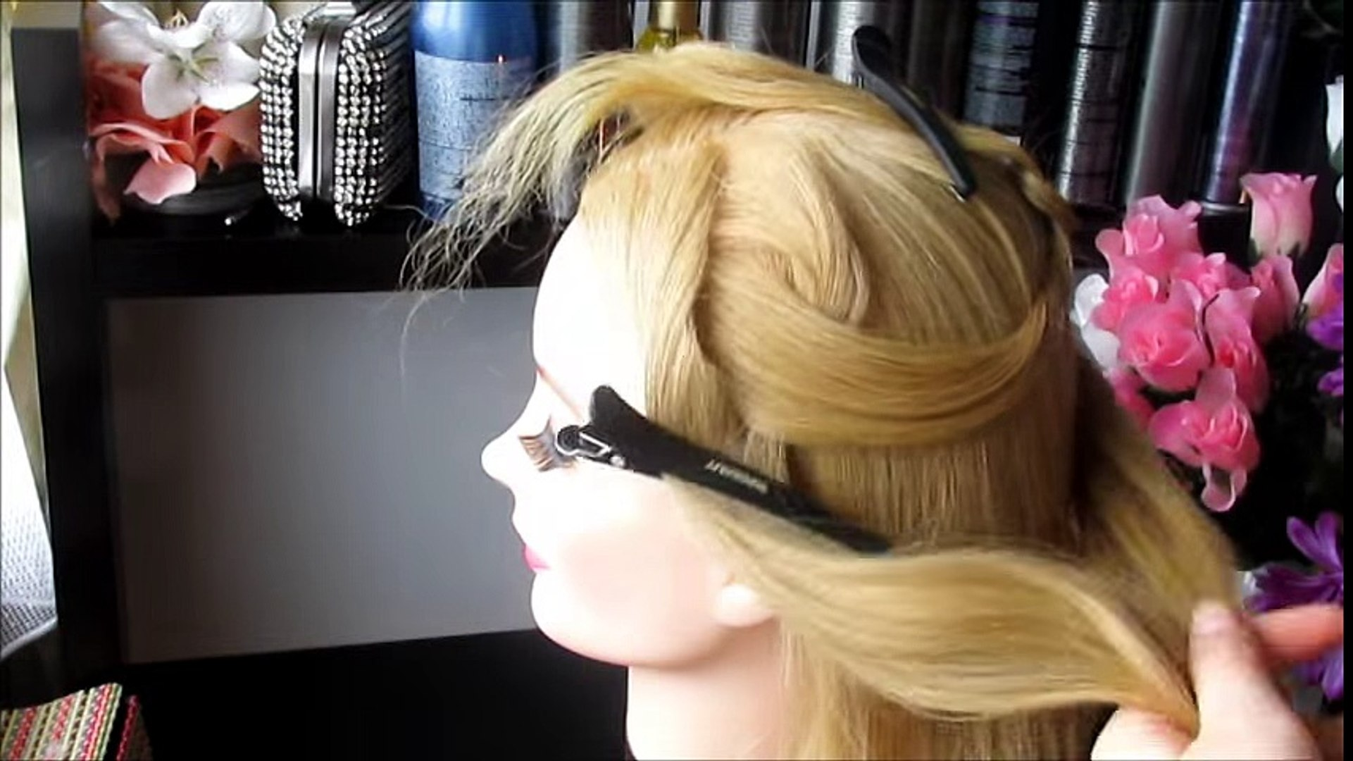 Beauty & Fashion Hairstyle Tutorial