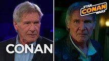 Harrison Ford Wanted Han To Die In Return Of The Jedi - CONAN on TBS