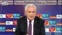 "Jean-Pierre Raffarin - ""Oui aux prêches en français"""