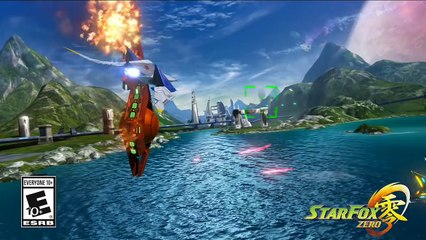 Star Fox Zero - Trailer du jeu de Starfox Zero