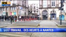 Nantes: des heurts lors de la manifestation contre la loi Travail