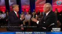 Donald Trump Back Pedals On Abortion Comments