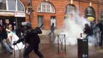 Loi Travail : violents affrontements à Rennes, Toulouse et Nantes