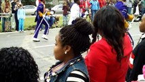 Edna Karr High School Marching Band in Krewe of NOMTOC (Feb. 9th, 2013)