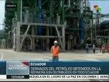 Ecuador: Refinería Esmeraldas incrementa producción de derivados