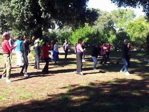 Corsi di Tai Chi Chuan e Qi Gong A Roma - Lezioni Gratuite a Villa Celimontana