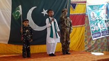 Welcome song by the kids of Allama Iqbal Education School Dougal