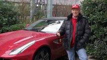 Niki Lauda a Maranello: intervista esclusiva