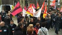 Manifestation contre la loi travail à La Roche-sur-Yon