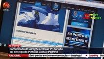 Porto Critica a FPF por não ter Distinguido Pinto da Costa e Pedroto