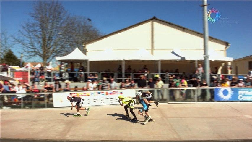 3 Pistes 2016 Pibrac cadette finale 500m