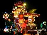 defiler carnaval de nuit cholet  2 mai  char  diablotins