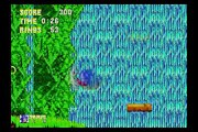Sega Genesis: Sonic 3 & Knuckles - Sonic and Tails - Angel Island Zone Act 1