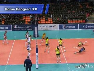 Dinamo Moscow - The Road to the Women's CEV Indesit Champions League Final Four 2009