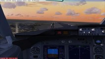 Flight Simulator X Boeing 737-800 Landing