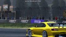 Grid AutoSport: Nissan Silvia 2003 (S15):Drift @ Okutama Drift Circuit (HD)