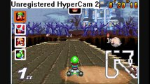 Game Walkthrough-Mario Kart Super Circuit GBA-Flowe Cup-Boo Lake