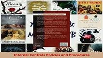 PDF  Internal Controls Policies and Procedures Download Full Ebook