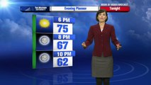 Cheryl Lemke's Hour by Hour Forecast to plan your evening. 4pm - Update