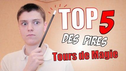 Top 5 Des PIRES Tours de Magie !