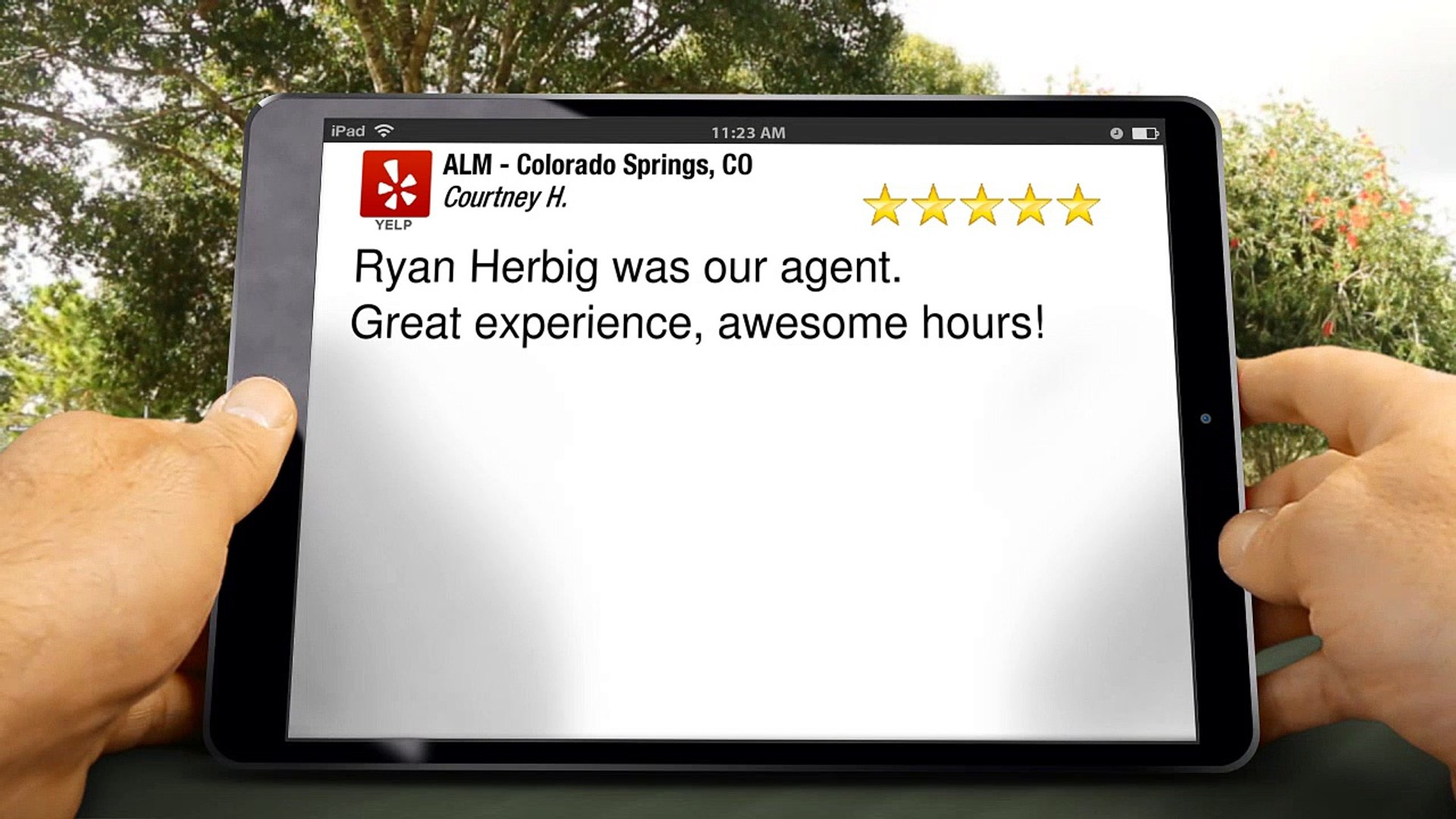 ALM - Colorado Springs, CO Colorado Springs         Excellent         5 Star Review by Courtney H.